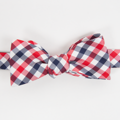 USA Quad Bow Tie - Collared Greens
