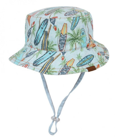 Dozer Boys Bucket Hat - Koby Natural