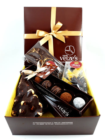 Chocolade pakket, Puur en donker, Intens donkere chocolade. Trinitario Criollo chocolade