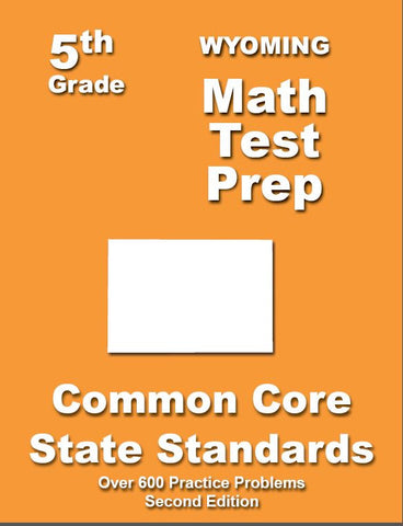 5th Grade Wyoming Common Core Math - TeachersTreasures.com