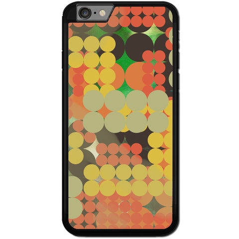Fits Apple iPhone 6 & 6S - Abstract Pola Dots Case Phone Cover Y00311