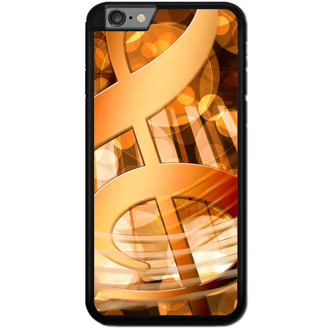 Fits Apple iPhone 6 & 6S - Abstract Music Case Phone Cover Y00392