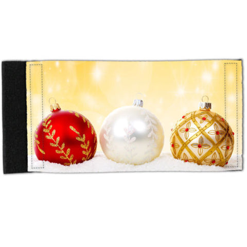 Stubby Holder - Neoprene Can Cooler - Xmas Balls Y00480