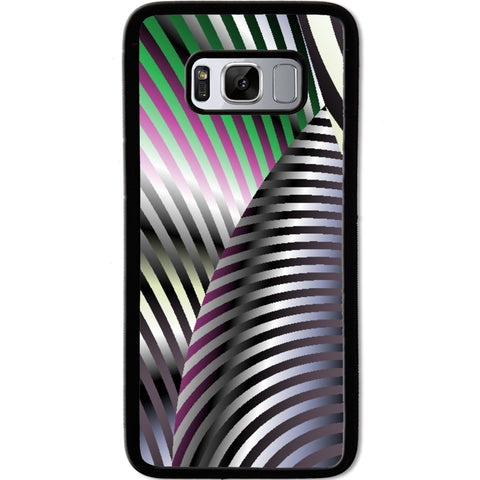 Fits Samsung Galaxy S8 - Zebra Pattern Case Phone Cover Y00302