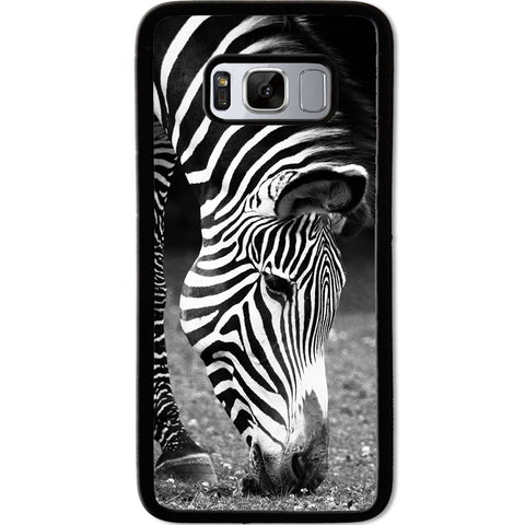 Fits Samsung Galaxy S8 - Zebra Natural Case Phone Cover Y00950
