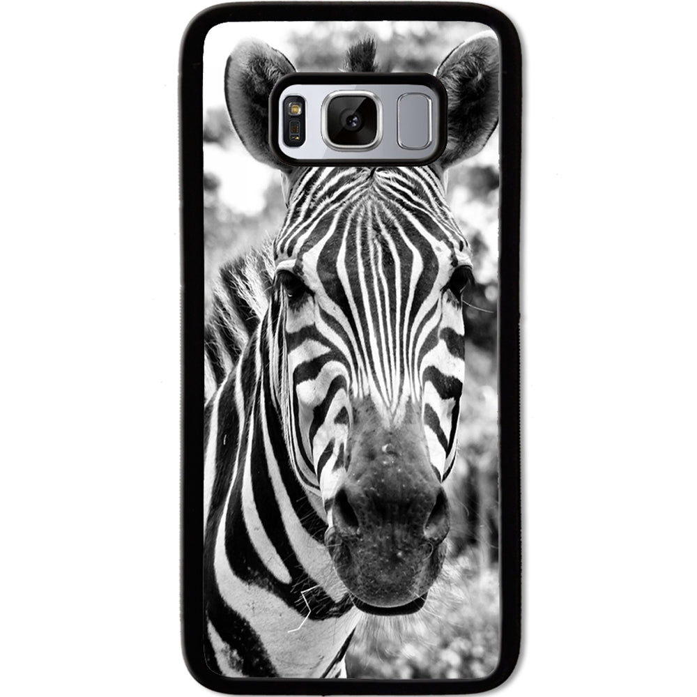 Fits Samsung Galaxy S8 - Zebra Real Case Phone Cover Y01056