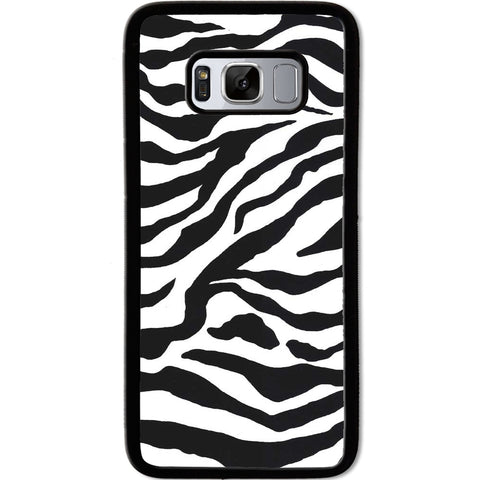 Fits Samsung Galaxy S8 - Zebra Stripes Case Phone Cover Y01079