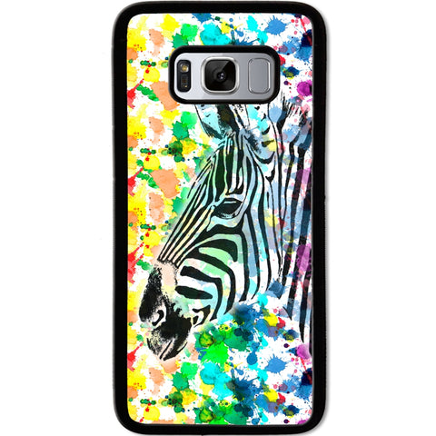 Fits Samsung Galaxy S8 - Zebra Beauty Case Phone Cover Y01096