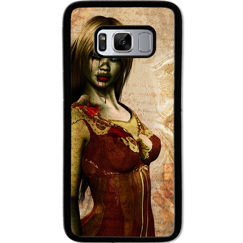 Fits Samsung Galaxy S8 - Zombie Mistress Case Phone Cover Y01494