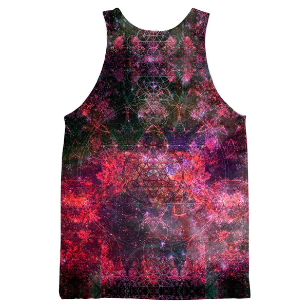 PINEAL METATRON GALAXY DARK TANKTOP