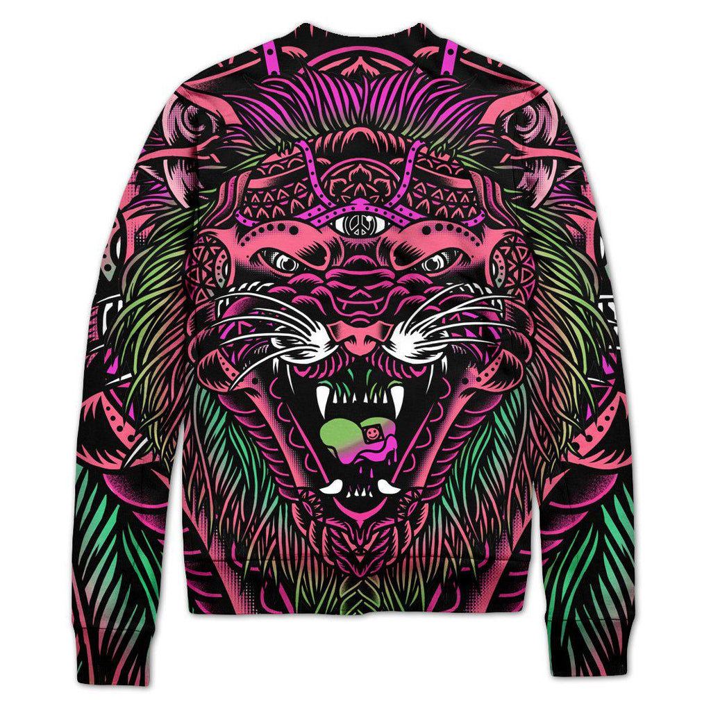 Set 4 Lyfe - ACID TIGER VARSITY JACKET - Clothing Brand - Varsity Jacket - SET4LYFE Apparel
