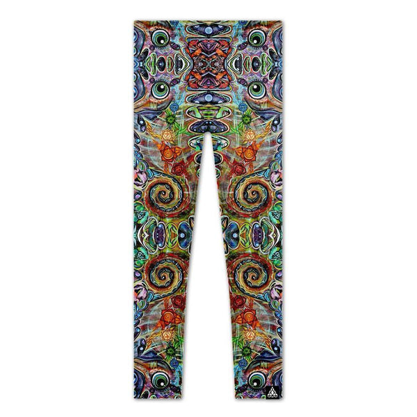 Set 4 Lyfe / Laura McGowan Art - CHAKRA SEAHORSE LEGGINGS - Clothing Brand - Leggings - SET4LYFE Apparel
