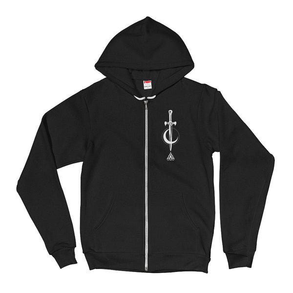 Set 4 Lyfe Apparel / Cat Siren - MOTH ZIP HOODIE - Clothing Brand - Graphic Zip Up Hoodie - SET4LYFE Apparel