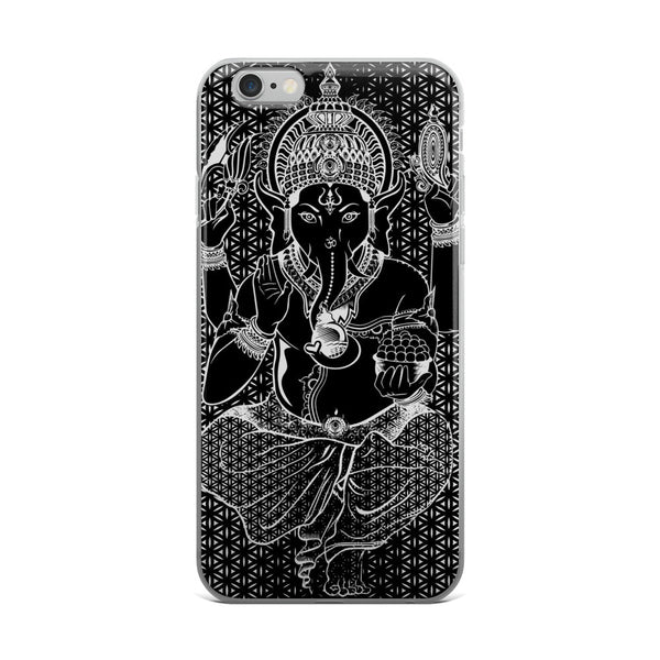 Set 4 Lyfe / Rooz Kashani - SACRED GANESHA - iPhone 5/5s/Se, 6/6s, 6/6s Plus Case - Clothing Brand - Phone Cases - SET4LYFE Apparel
