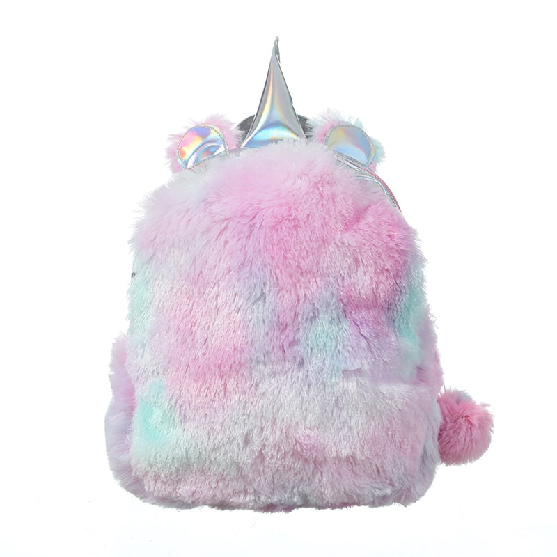 FURRY UNICORN BACKPACK