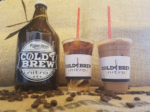 Vanilla Latte Cold Brew Coffee Keg