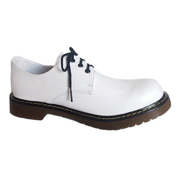 Zapatos Blucher Blanco