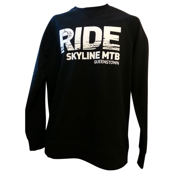 Ride More Crew Neck Sweatshirt