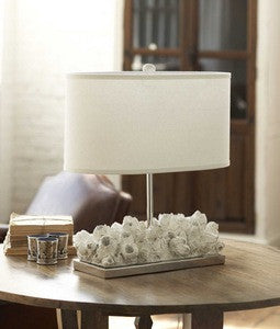 Barnacle Table Lamp - By the Sea Beach Decor