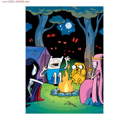 Adventure Time Camping Magnet