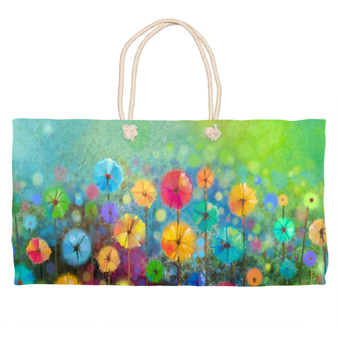 Field of Wildflowers Weekender Totes