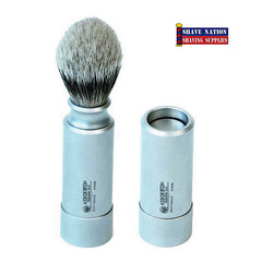 Dovo-Merkur Silvertip Travel Brush