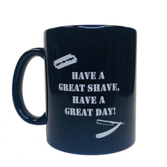 Shave Nation Coffee Mug-Navy Blue