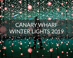 Canary Wharf Winter Lights