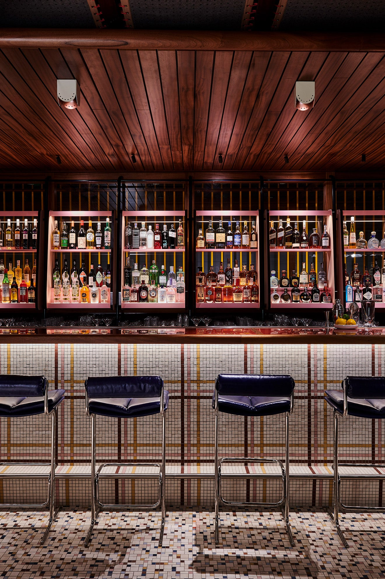The Standard Hotel London Bar Design