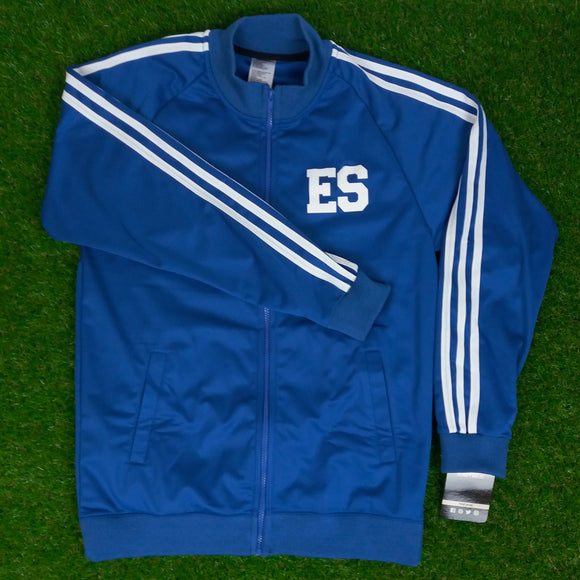 El Salvador, Men's Retro Soccer Jacket, WC España 82, Plain at the Back, Blue