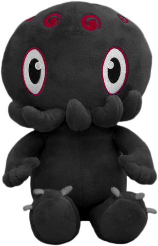 C is for Cthulhu Plush (Black)
