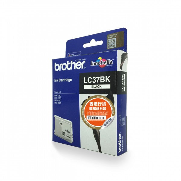 Brother LC-37 墨盒 Ink Cartridge (適用型號 DCP-135C, DCP-150C, MFC-235C, MFC-260C) - Young Vision - www.yv.com.hk