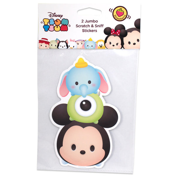 Disney Tsum Tsum – Jumbo Smickers Mickey Mouse (Set of 2) (DT3001) - Young Vision - www.yv.com.hk