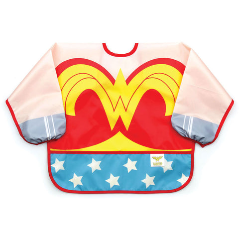 Costume Sleeved Bib Wonder Woman