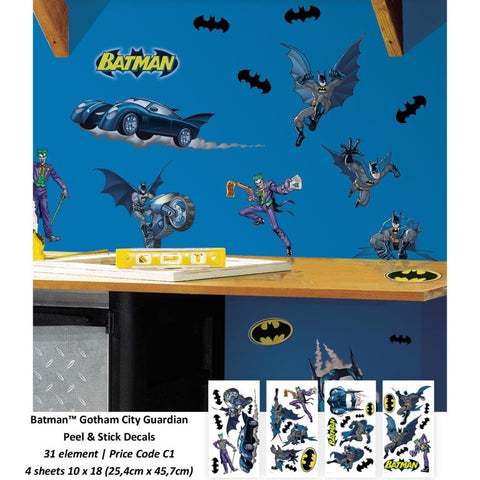 Room Decals - Batman Gotham Guardian