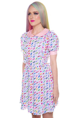 Wholesale Candy Shop Ruffle Dress