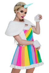 Rainbow Rider Unicorn Costume