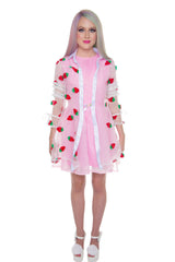Wholesale Strawberry Pie Sheer Trench