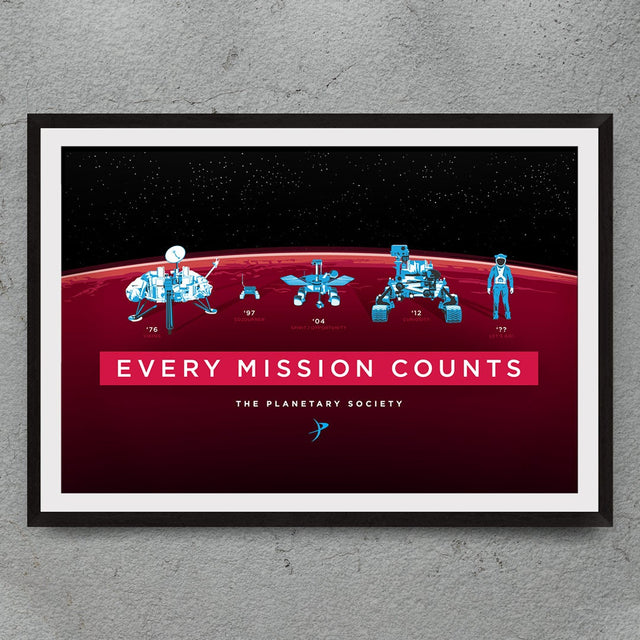 Every Mission Counts Digital Print