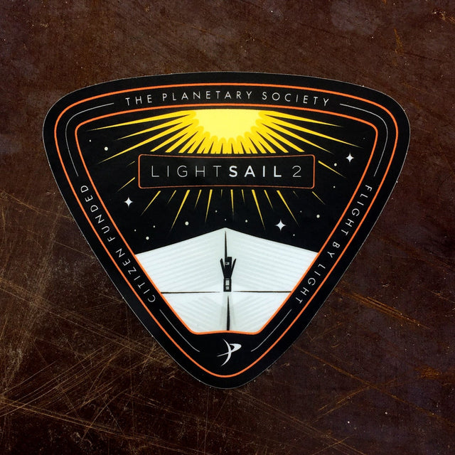 LightSail 2 Mission Sticker