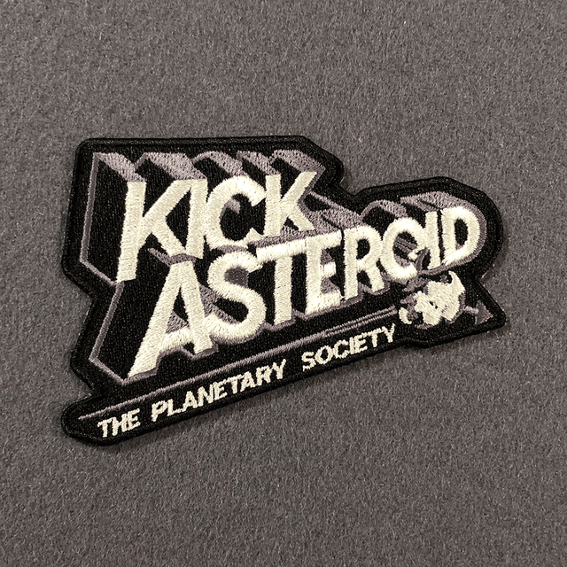 KickAsteroid Logo Patch for The Planetary Society