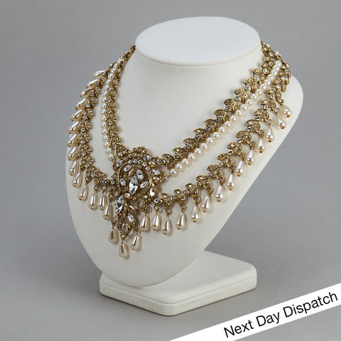 Amravati Couture Necklace (BUY AS SEEN)