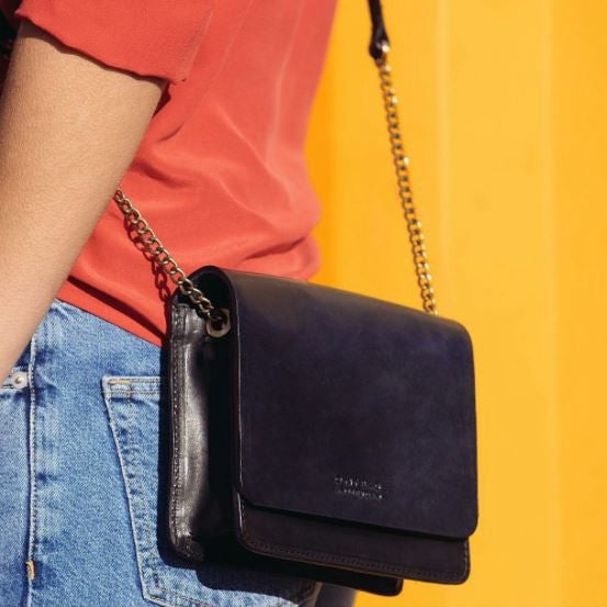 The Audrey Mini Limited - Eco Classic Black/Navy