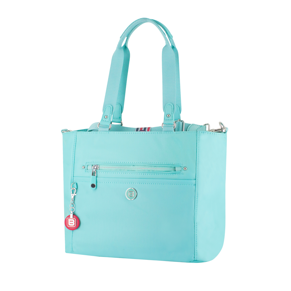 Satchel Handbag - Glen Satchel Bag Angled [New Turquoise]