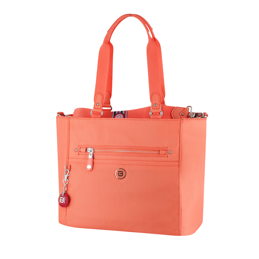 Satchel Handbag - Glen Satchel Bag Angled [Proud Orange]