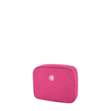 Cosmetic Pouch - Polk Cosmetic Pouch Angled [Raspberry Soda]