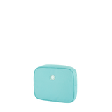 Cosmetic Pouch - Polk Cosmetic Pouch Angled [New Turquoise]