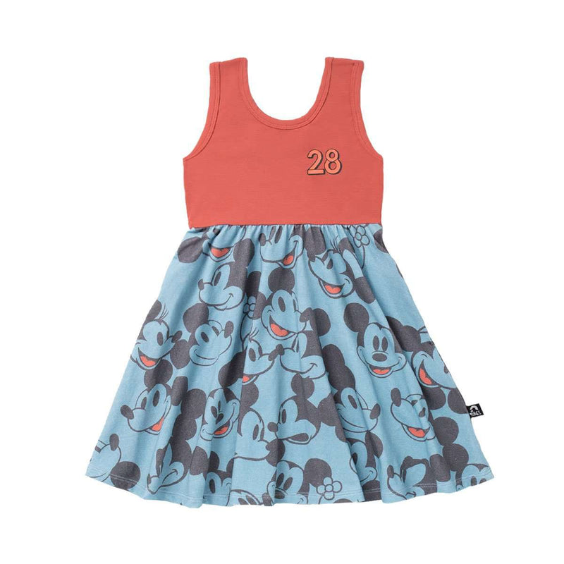 Tank Swing Dress - 'Blue Vintage All-Over Mickey & Minnie' - Disney Collection from RAGS