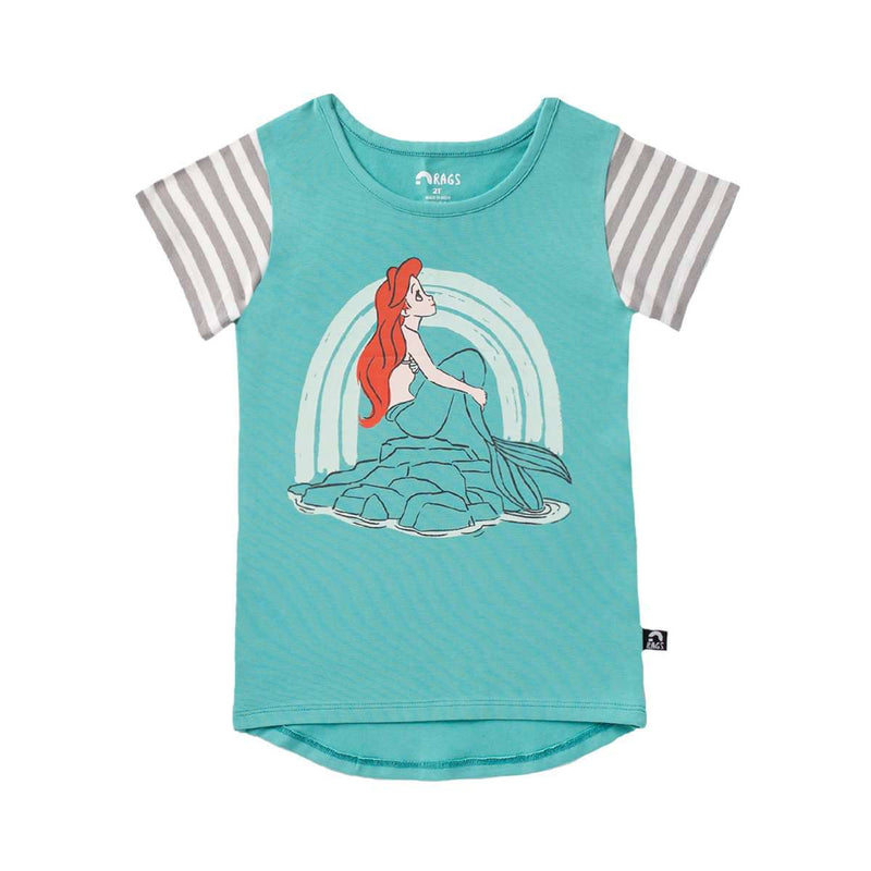 Kids OG Style Tee - 'Ariel' - Disney Collection from RAGS