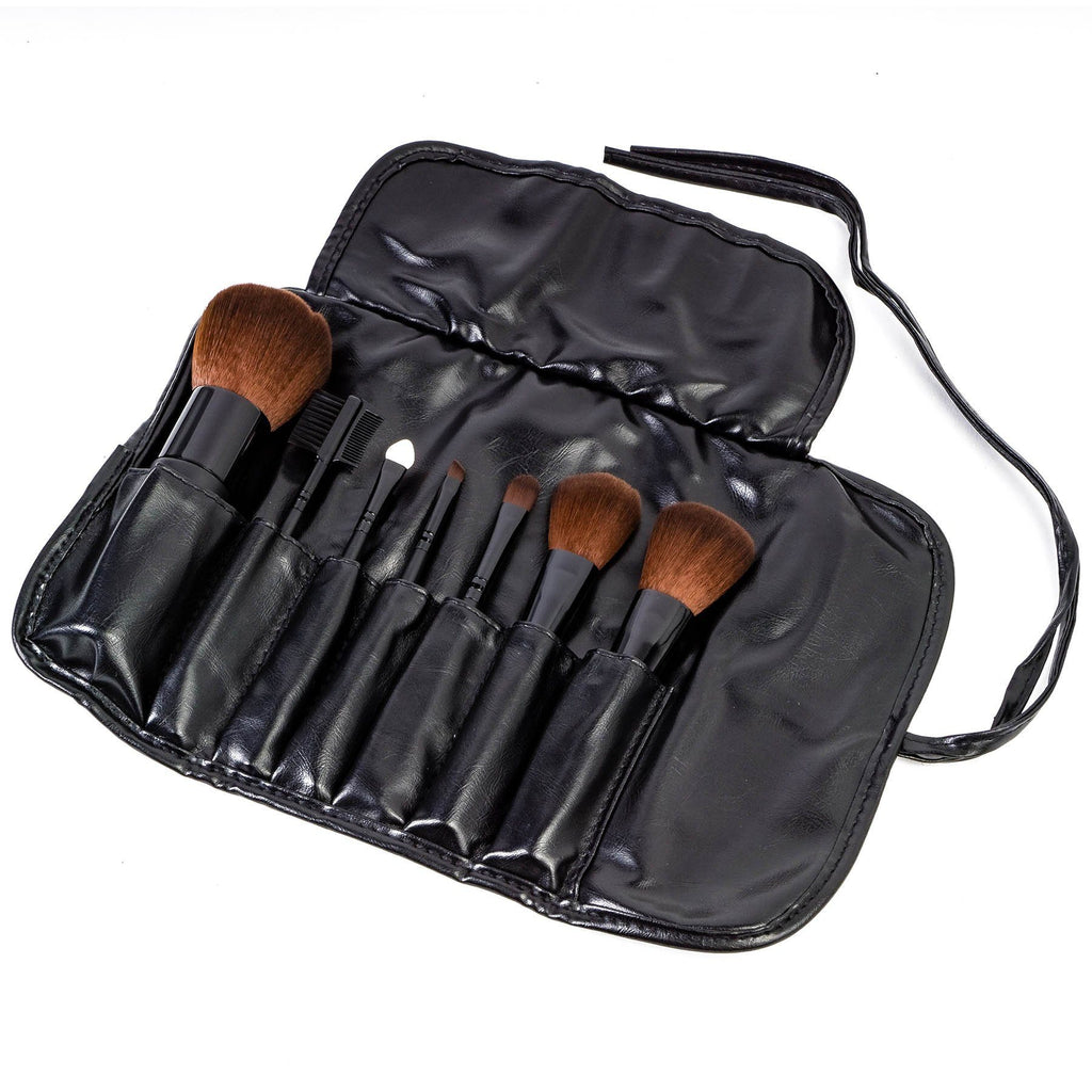 SHANY Studio Brush Sets-7pc -  - ITEM# SH-7PCBRUSH - makeup contour brush set kit women airbrush eye,face essential cosmetics case eyeshadow eyeliner,foundation blending blusher lip powder liquid bag,highlighter holder synthetic urban decay cream,ecotools professional mermaid elf vanity morphe - UPC# 914541354772